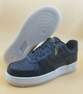 6a8537ce4b55b Nike Air Force 1 '07 LX SIZE 6.5 7 Women Shoes Black Grey MSRP $110 ...