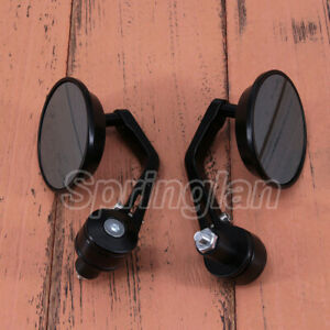 UK-7-8-22MM-UNIVERSAL-MOTORBIKE-MOTORCYCLE-BIKE-BAR-END-REARVIEW-SIDE-MIRRORS
