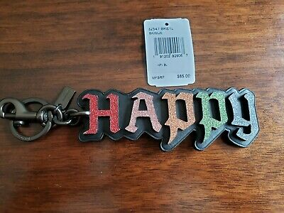 COACH Disney Happy Sleepy Sneezy Doc Purse Bag Charm Keychain Hang Tag