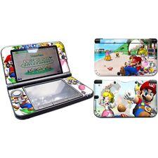 Nintendo 3DS XL System Super Mario & Princess Decal Vinyl Cover Skin Sticke