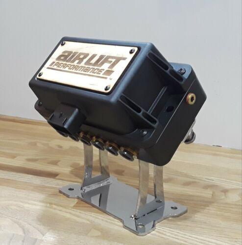 Air Lift Valve Block Mount Manifold Bracket  Dual Arm Pedestal Air Ride Bagged