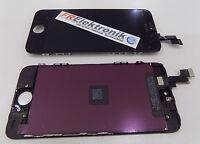 Display LCD für iPhone 5S mit RETINA Glas Komplett Front Schwarz + Werkzeug -K1