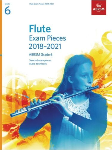 ABRSM Flute Exam Pieces 2018–2021 ABRSM Grade 6 Learn to Play Lesson MUSIC BOOK