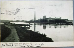 Augusta-GA-1906-Postcard-Sibley-Cotton-Mill-Georgia