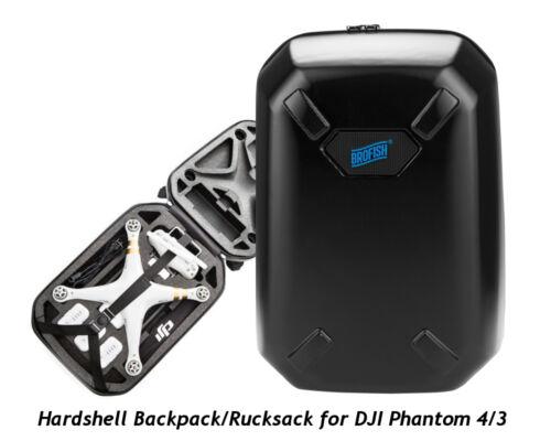 Brofish Backpack Hartschalen Rucksack f Quadrocopter Drone DJI PHANTOM 4