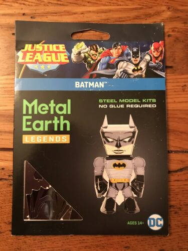 Fascinations Metal Earth Legends BATMAN Steel 3D Model Kit New Justice League