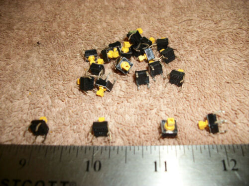 LOT OF PC MOUNT SPST N.O. PUSHBUTTON SWITCH!