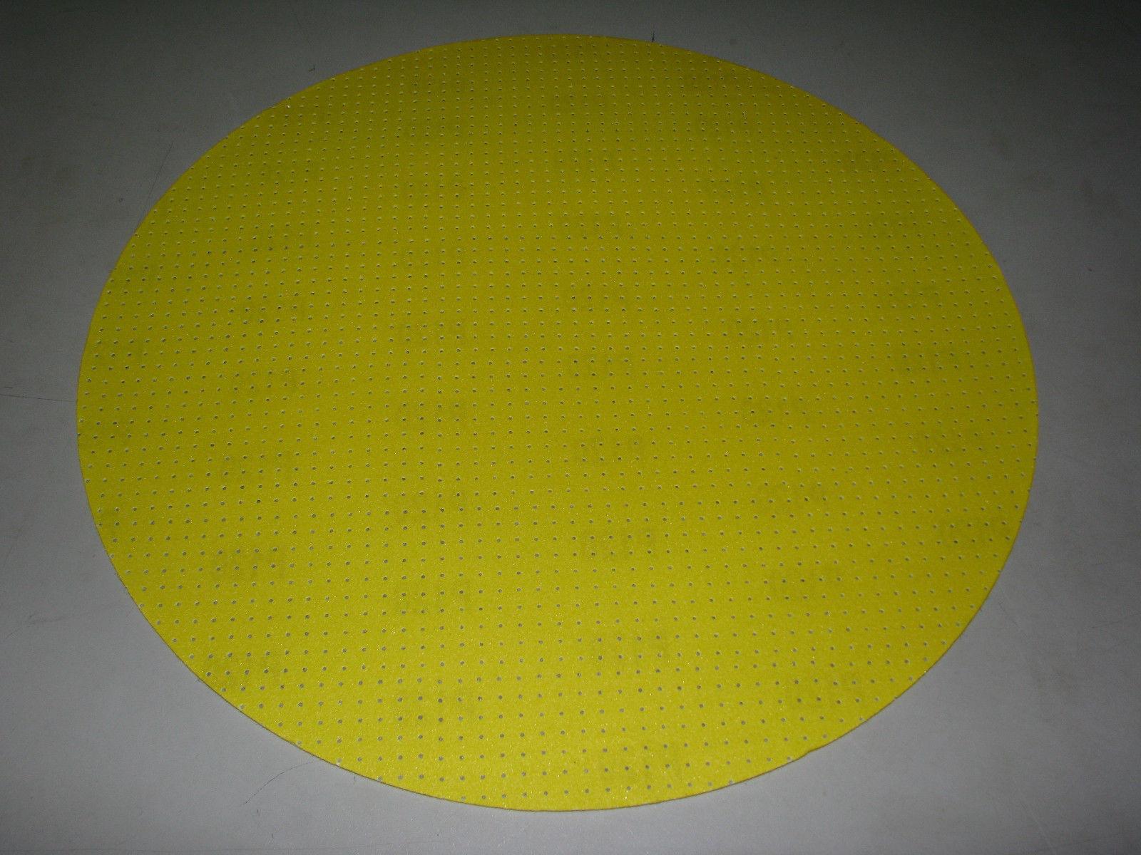 10x Schleifpapier ø 406 mm perforiert Korn 60 80 100 120 150 Klett Menzer 400