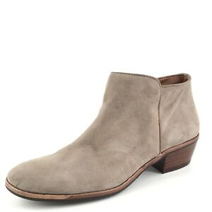 New Sam Edelman 'Petty' Suede Taupe Suede 'Petty' Zip Ankle Stiefel Damens's Größe 6.5 ... 684e01