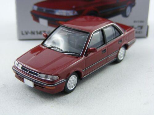 Tomytec tomica Limousine vint /'89 toyota corolla 1600gt rotmetallic neo lv-n147d,1//64