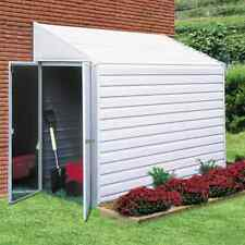 4x7 Storage Shed Lawn Utility Garden Storage Kit - Steel Double Swing Out Doors