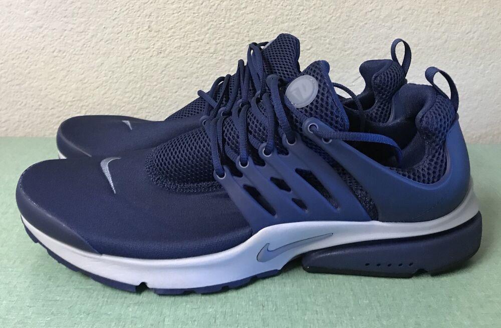 Nike Air Presto Essential Midnight Navy Bleu Grey Homme Homme  Chaussures de sport pour hommes et femmes