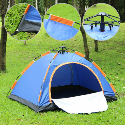 Details about  /2 Person Waterproof Outdoor Camping 4Season Automatic Instant Pop Up Tent Hiking