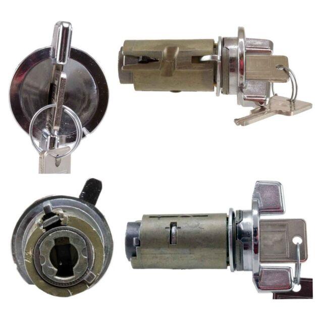 1978-1996 GM / GMC / Jeep Chrome Ignition Lock Cylinder - Airtex 4H1019