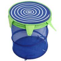 Foldable Animal Cartoon Storage Bucket Laundry Clothes Net Basket Toy Box - CB