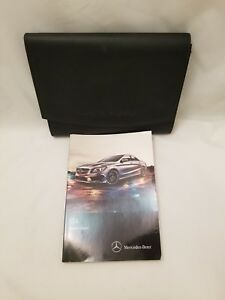 Image Is Loading  Mercedes Benz Cla Class Owners Manual Cla