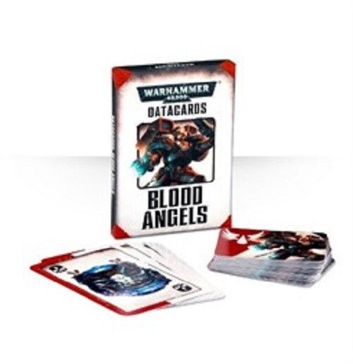 Warhammer 40K Blood Angels Datacards 41-04-60 NEW Sealed