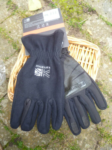 Karrimor Noir Coupe-vent Grip Vélo Marche Alpinisme Outdoor Gants XL