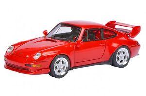 Porsche 911 (993) Cup 3.8 Rouge India 08887 Schuco Pro.r43