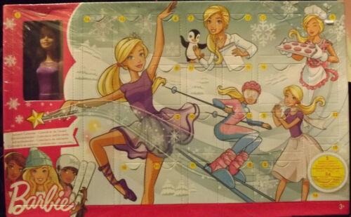 BARBIE Advent Calendario incl una bambola e accessori abbondante-Merce Nuova