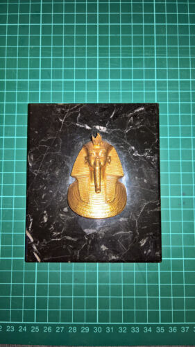 Goldmaske des Tut-Ench-Amun, Museumsreplikat, ca 6,5x5 cm, limitiert mit Zertifi
