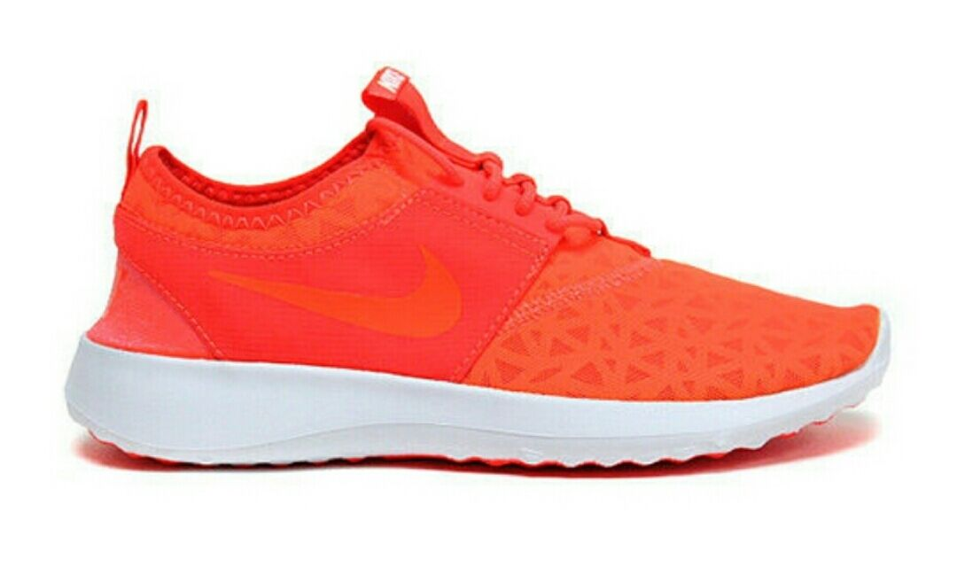 NIKE JUVENATE 724979-802 Total Crimson Flexible Lightweight Women's Sneakers