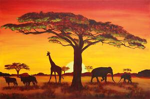 Papier-peint-photo-Coucher-du-Soleil-en-Afrique-African-sunset-image-murale