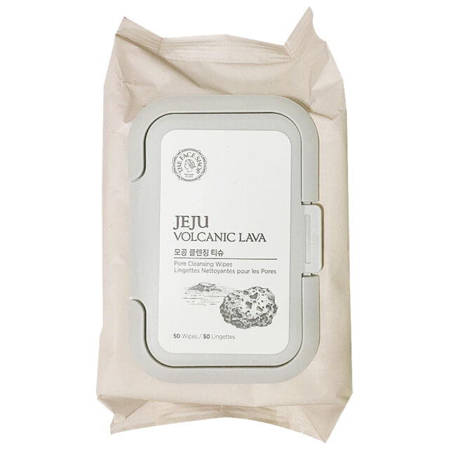 The Face Shop Jeju Volcanic Lava Pore Cleansing Tissue, 50Sheets Rx Systems Rejuvenating Facial Firming Mask 8 oz