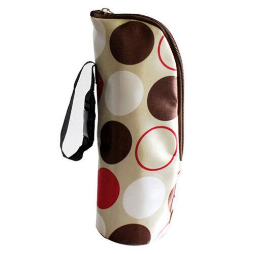 Infant Milk Bottle Milk Warmer Insulated Bag Thermal Bag Baby Bottle Bag FG
