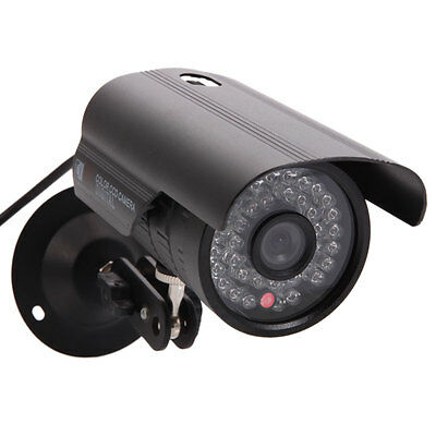 1200TVL HD Color Outdoor CCTV Surveillance Security Camera 36IR Day Night Video
