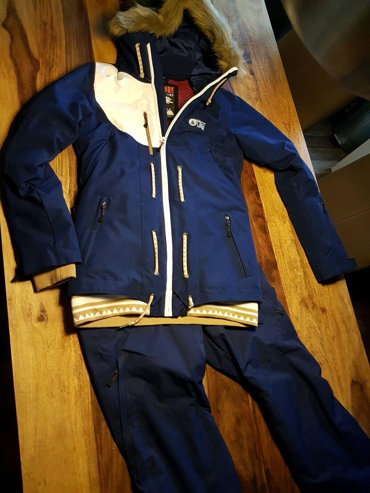 Picture Organic Clothing Snowboard Jacke und Hose Damen S - M