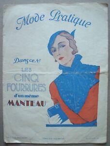 Mode Pratique. - Janvier 1933.