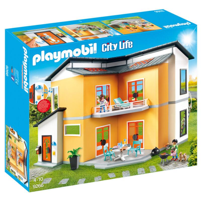 PLAYMOBIL City Life MODERN HOUSE 9266 New