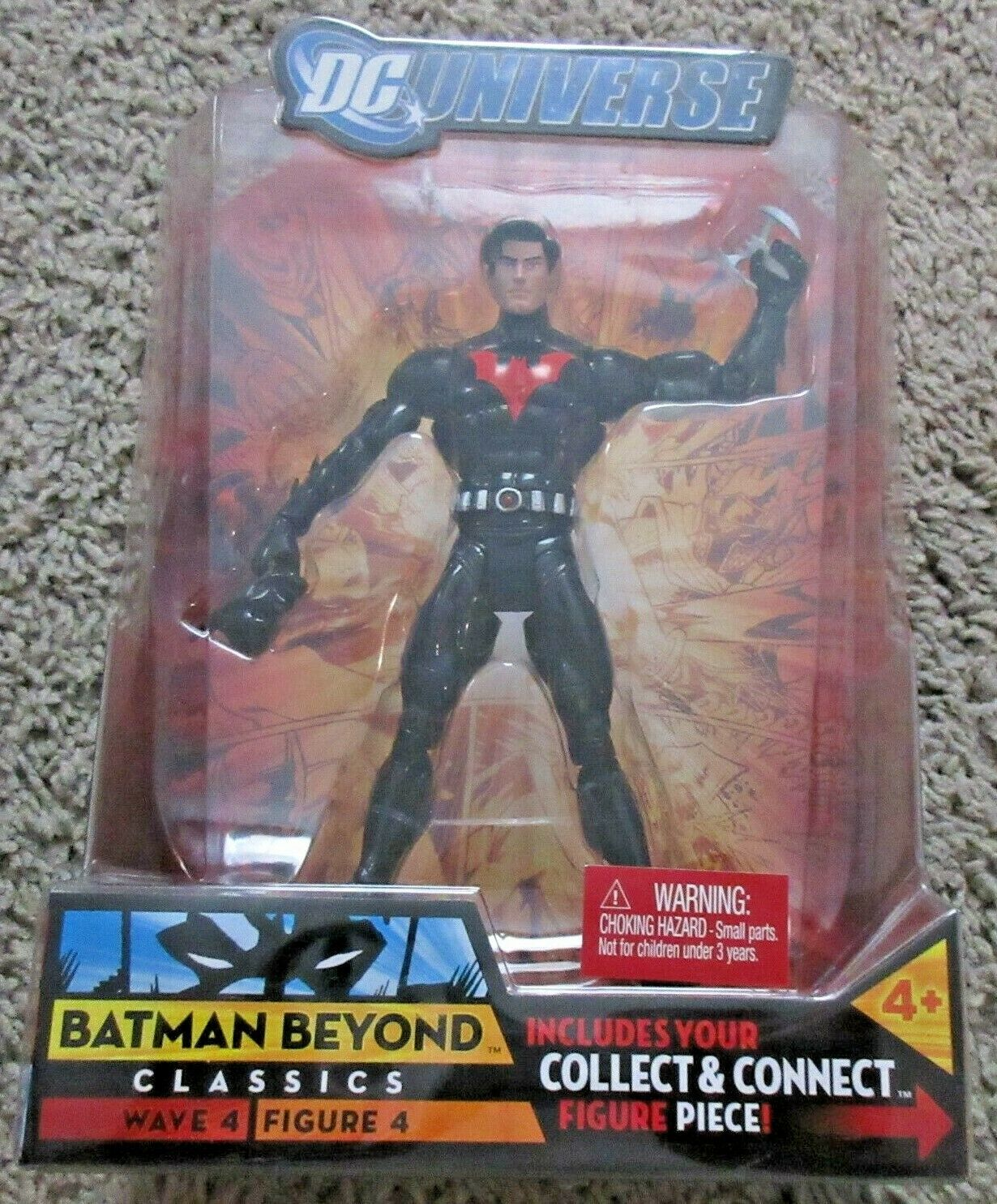 DC UNIVERSE CLASSICS BATMAN BEYOND 6  INCH SUPER POWERS JUSTICE LEAGUE RARE