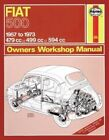 Fiat 500 Owner's Workshop Manual by James Larminie, J. H. Haynes (Paperback, 2012)
