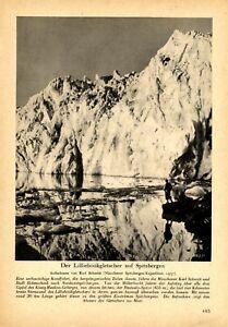 Lilliehöök Glacier Spitzbergen German 1938 report Munich expedition 1937 - Waldburg, Deutschland - Lilliehöök Glacier Spitzbergen German 1938 report Munich expedition 1937 - Waldburg, Deutschland