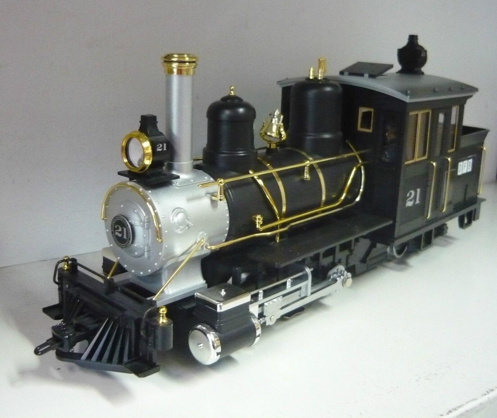 LGB 21251 máquina de vapor tipo 0-4-4 Forney, pista G, usado, sin OVP, limitado
