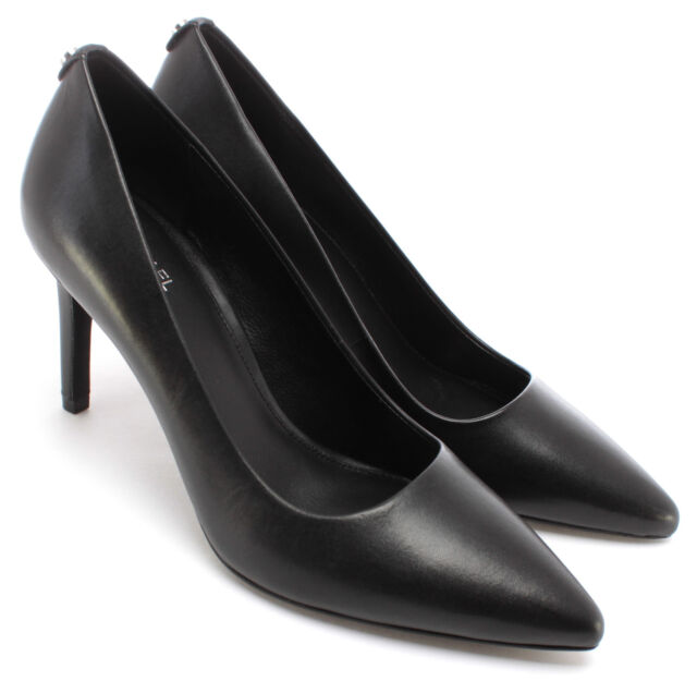 Women's Heels Shoes MICHAEL KORS 40F6DOMP1L Dorothy Leather Black