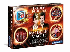 Clementoni-59050-Modern-Magic-Tricks-Zauberkasten-Ehrlich-Brothers-NEU-amp-OVP