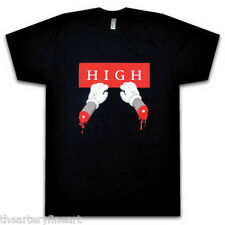 KAWS 'Down Time (Bloody Hands)' Exhibition T-Shirt SMALL Silkscreen RARE **NEW**