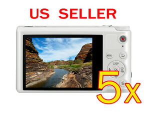 5x-Samsung-WB250F-Clear-LCD-Screen-Protector-Guard-Shield-Film