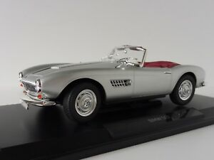 Bmw-507-cabriolet-1956-plata-1-18-norev-183230-convertible