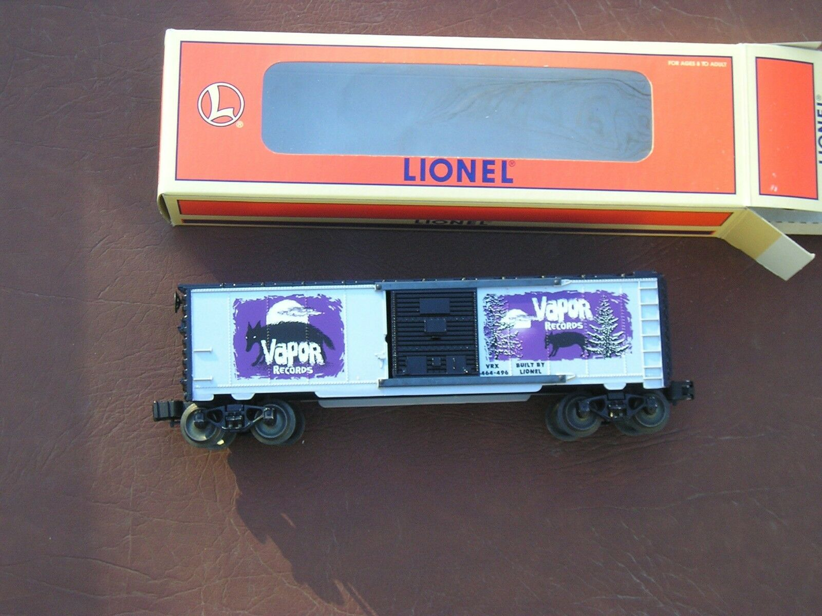 Neil Young Vapor Records scatola auto 629218 Lionel i treni Built 1999