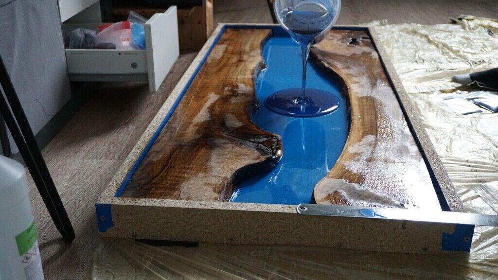 EP Epoxidharz glasklar Gießharz bis 1 cm mittelviskos schnell 1,0 kg 0,6 kg