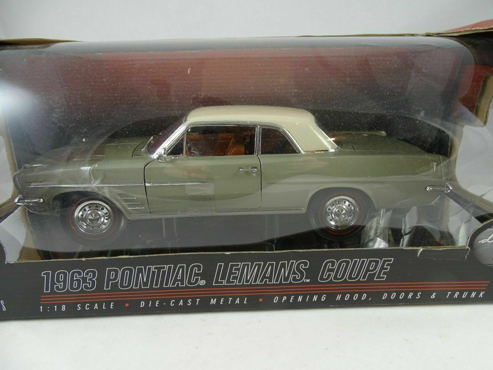 1 18 Highway 61  50145 - 1963 Pontiac Lemans-Nuovo Scatola Originale