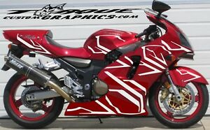TRON LEGACYSport Bike Graphics Motorcycle Decals Stickers EBay - Motorcycle decal graphics