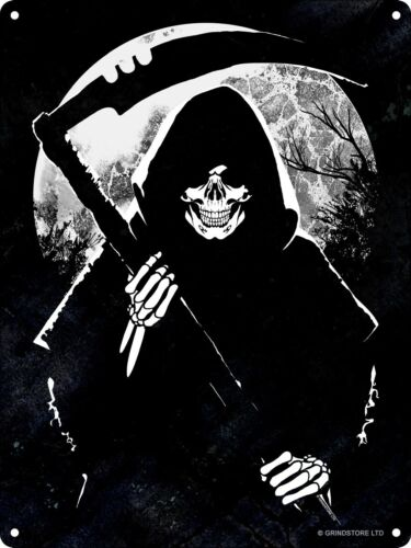 Blechschild Reaper Moon 15 x 20 cm