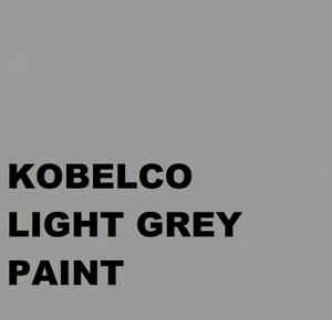 KOBELCO LIGHT GREY Paint Machinery Enamel Gloss Paint 1lt Brush or Spray 1000ml