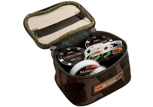 CLU302 FOX Camolite NEW Accessory Bag Carp Fishing Camo Lite MEDIUM