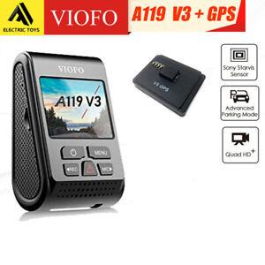 VIOFO-A119-V3-GPS-Dash-Camera-Recorder-QUAD-HD-1600P-Dashcam-Buffered-parking-M